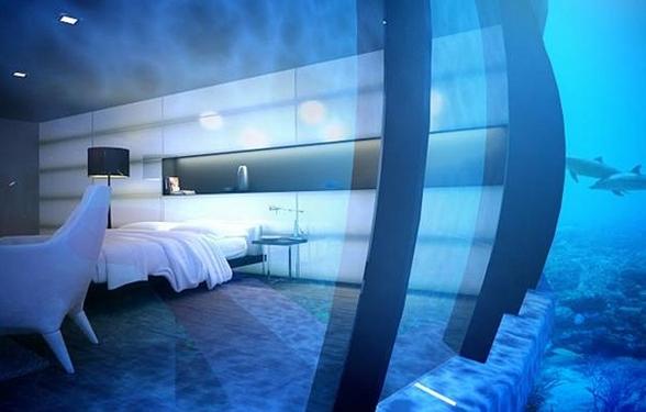 The water discus hotel el primer hotel submarino del for Hotel bajo el agua precio