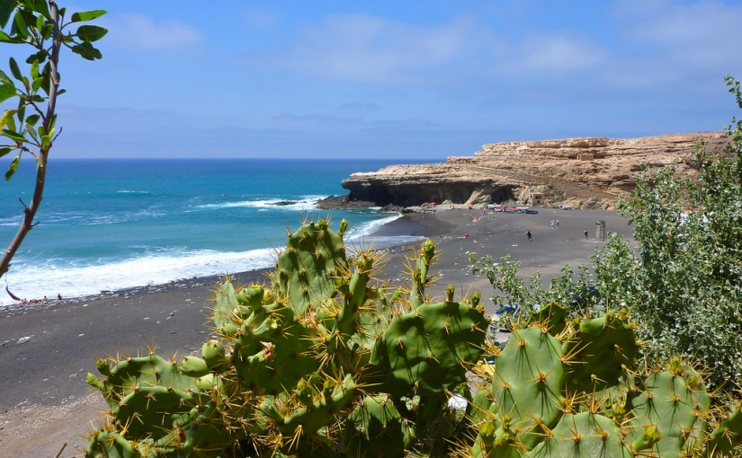 Playa de Ajuy, en Fuerteventura