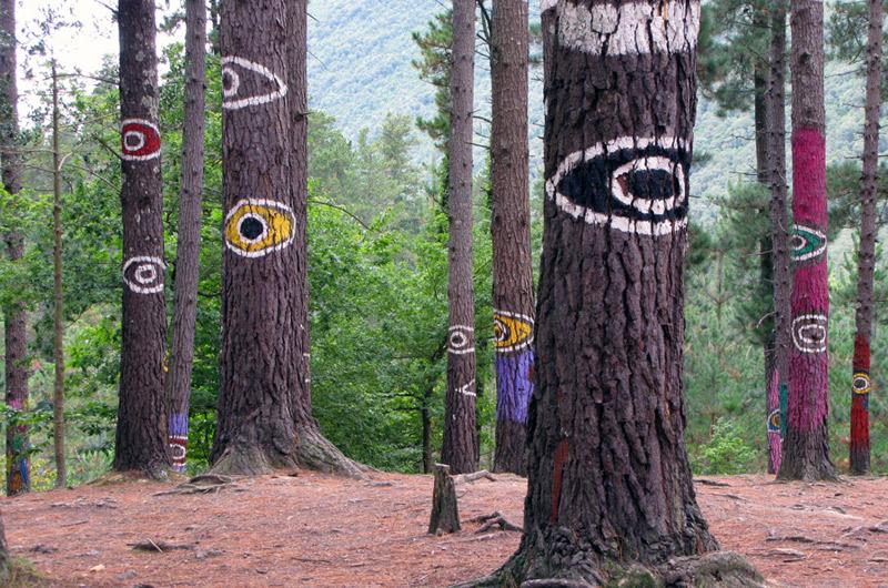 El bosque pintado de oma en el pa s vasco sala vip de - Arboles pais vasco ...