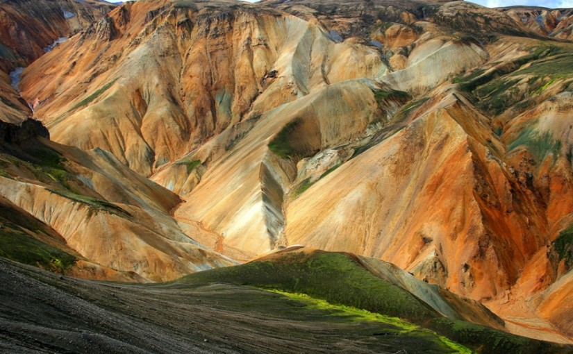 Las Montañas de Landmannalaugar