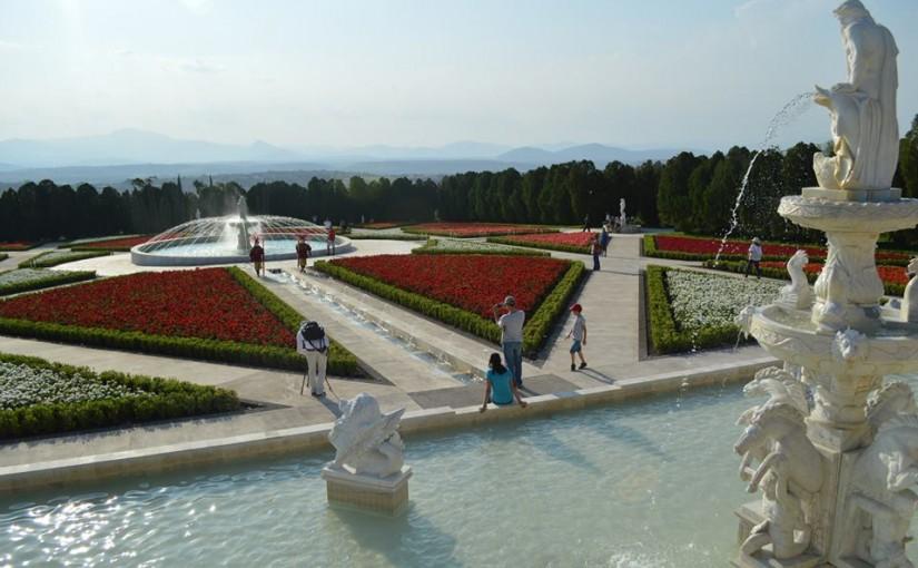Jardín temático Italiano del parque