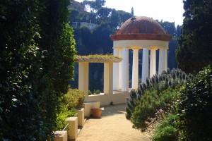 Templete de Linneo en el Jardín Botánico