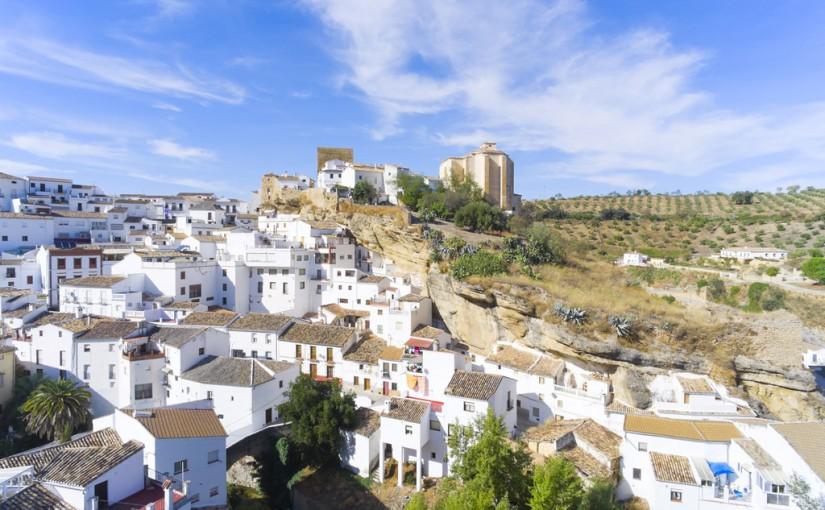 Panorámica de Setenil de las Bodegas, Cádiz PRUEBA