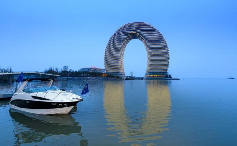 Sheraton Hotel (China), con 102 metros de altura