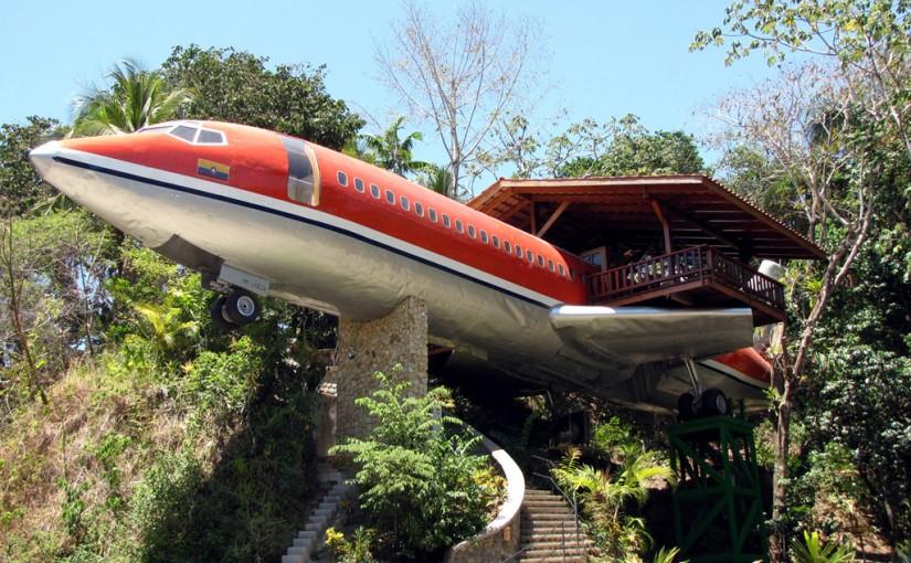 El antiguo fusilaje de un Boeing 727 convertido en una suite de lujo