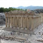 La réplica del Partenón de Atenas