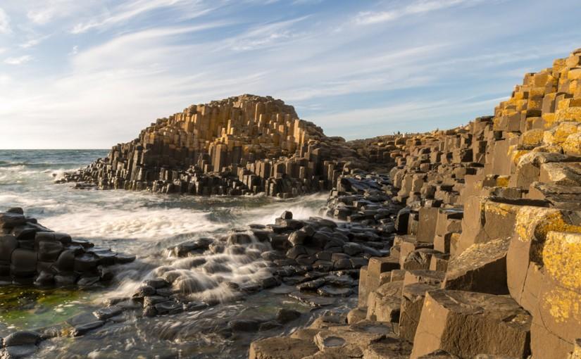 La Calzada del Gigante, en Irlanda del Norte