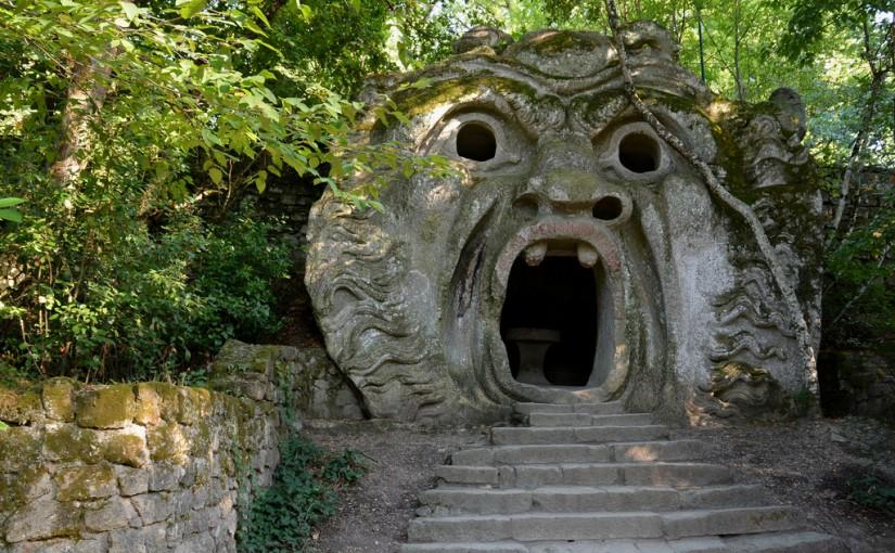 El Parque de los Monstruos, en Bomarzo, (Italia)