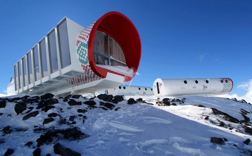 Hotel LEAPrus 3912, en lo alto del monte Elbrus