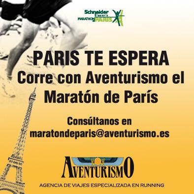 anuncio marathon de paris 2016